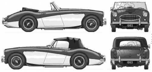 Austin Healey 3000 Mk.IIA (1963)