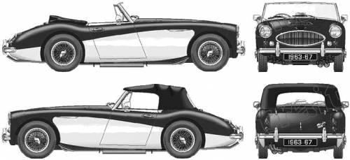 Austin Healey 3000 Mk.llI (1963)