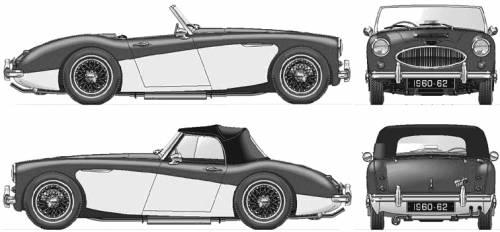 Austin Healey 3000 Mkll (1962)