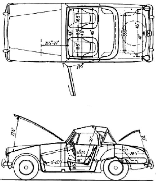 Austin Healey Sprite Mk III (1964)
