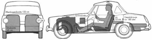 Austin Healey Sprite Mk. IV (1967)