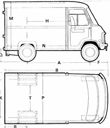 Austin - Morris EA Van (1971)