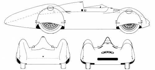 Auto Union Type D streamliner (1938)