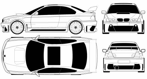 BMW 3-series Coupe (E46) Tuned