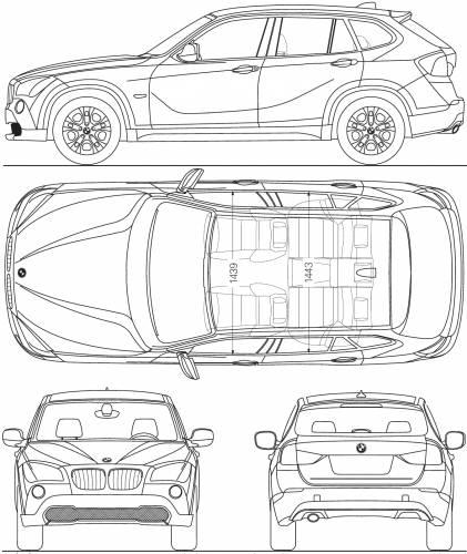 BMW X1 (E84) (2009)