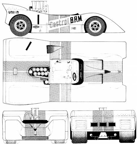 BRM 154 Can-Am (1970)