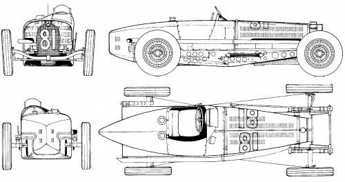 Bugatti Type 59 (1934)
