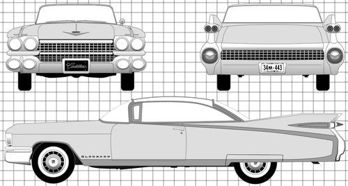 Cadillac Eldorado Hardtop (1959)