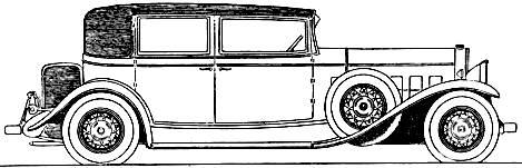 Cadillac V8 Town Sedan (1931)