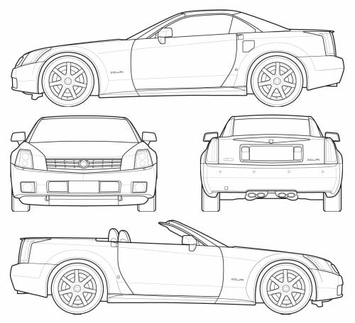 The Blueprints Com Blueprints Gt Cars Gt Cadillac