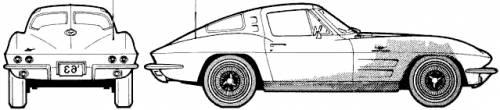 Chevolet Corvette Stingray (1963)