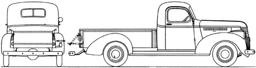 Chevrolet 0.75ton Pick-up (1941)