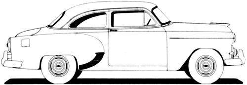 Chevrolet 150 2-Door Sedan (1953)