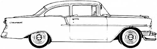 Chevrolet 150 2-Door Utility Coupe (1956)
