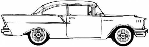 Chevrolet 150 2-Door Utility Coupe (1957)