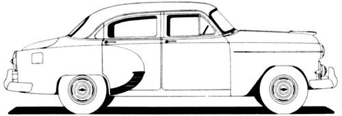 Chevrolet 150 4-Door Sedan (1953)