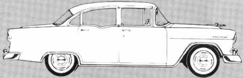 Chevrolet 150 4-Door Sedan (1955)