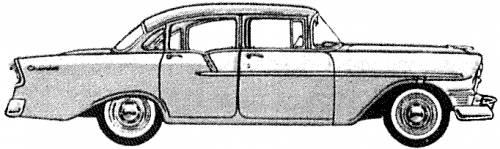 Chevrolet 150 4-Door Sedan (1956)