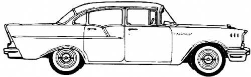 Chevrolet 150 4-Door Sedan (1957)