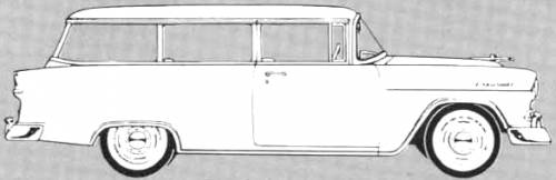 Chevrolet 150 Handyman 2-Door Station Wagon (1955)