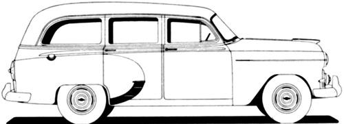Chevrolet 150 Handyman Station Wagon (1953)