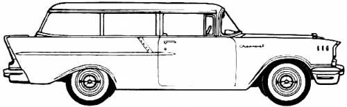 Chevrolet 150 Handyman Station Wagon (1957)