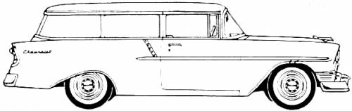 Chevrolet 150 Handyman Station Wagon 2-Door (1956)