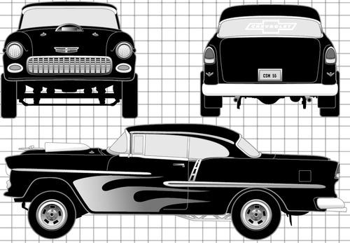 Chevrolet 150 Street Machine (1955)