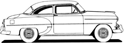 Chevrolet 210 2-Door Sedan (1953)