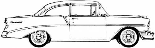 Chevrolet 210 2-Door Sedan (1956)