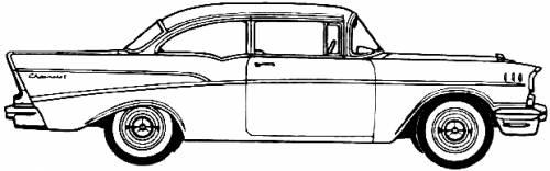 Chevrolet 210 2-Door Sedan (1957)