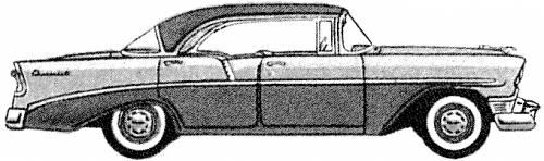 Chevrolet 210 4-Door Hardtop (1956)
