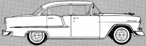 Chevrolet 210 4-Door Sedan (1955)