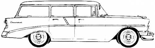 Chevrolet 210 Beauville 4-Door Station Wagon (1956)