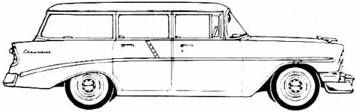 Chevrolet 210 Beauville Station Wagon (1956)