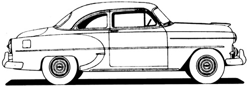 Chevrolet 210 Club Coupe (1953)