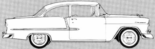 Chevrolet 210 Delray Club Coupe (1955)