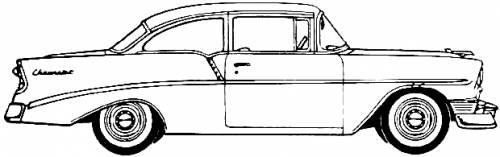 Chevrolet 210 Delray Club Coupe (1956)