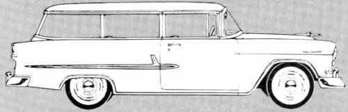 Chevrolet 210 Handyman 2-Door Station Wagon (1955)