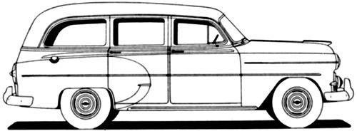 Chevrolet 210 Handyman Station Wagon (1953)