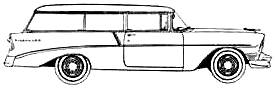 Chevrolet 210 Handyman Wagon (1956)