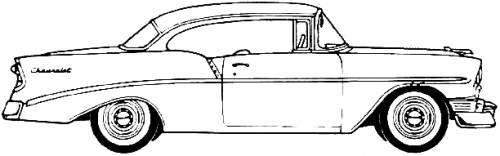 Chevrolet 210 Sport Coupe (1956)