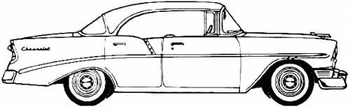 Chevrolet 210 Sport Sedan (1956)