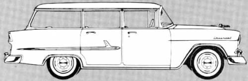 Chevrolet 210 Townsman 4-Door Station Wagon (1955)