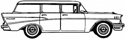 Chevrolet 210 Townsman 4-Door Station Wagon (1957)