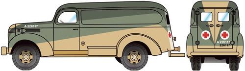 Chevrolet 3805 Ambulance (1941)