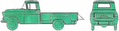 Chevrolet Apache 3104 Pick-up Stepside (1959)