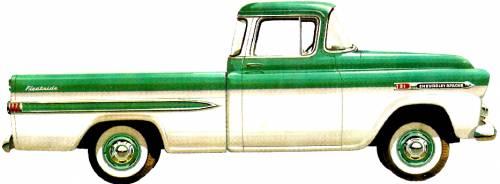 Chevrolet Apache 3134 Pick-up Fleetside (1959)