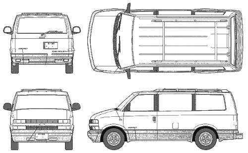 Chevrolet Astro 2WD