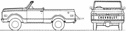 Chevrolet Blazer Soft Top (1970)